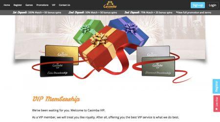 Casimba VIP membership