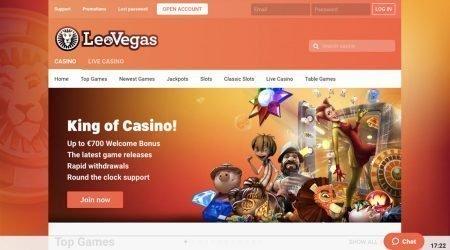Leo Vegas Welcome Bonus