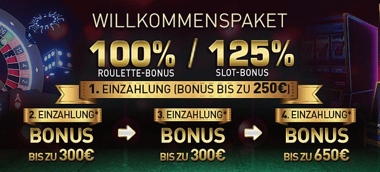 CasinoClub Bonus für Neukunden