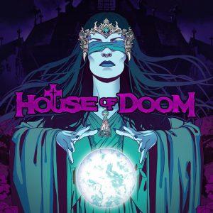 House of doom casino game logo