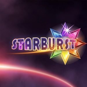 Starburst casino game logo