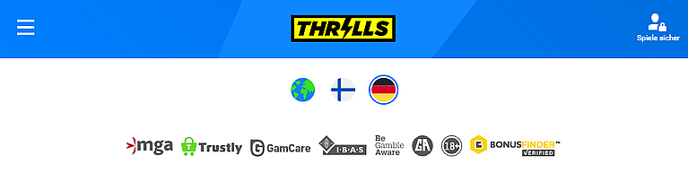 Thrills Casino Lizenz
