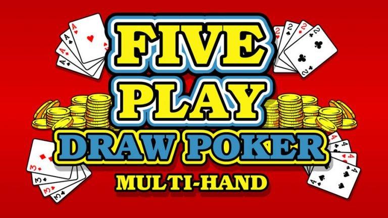 5 Play Draw Poker