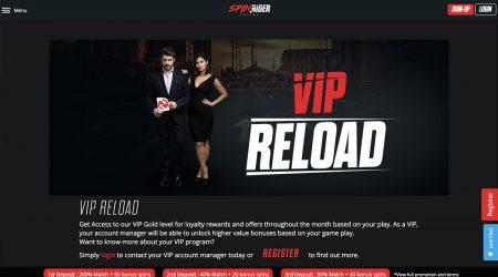 Spin Rider VIP Reload