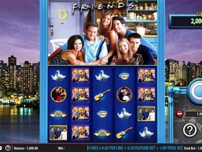 Ny spelautomat – Friends