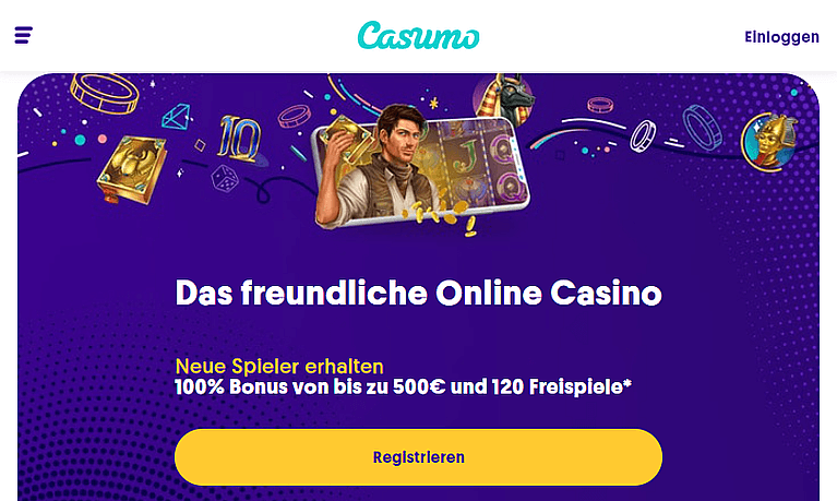 Casumo Casino Bonus für Neukunden