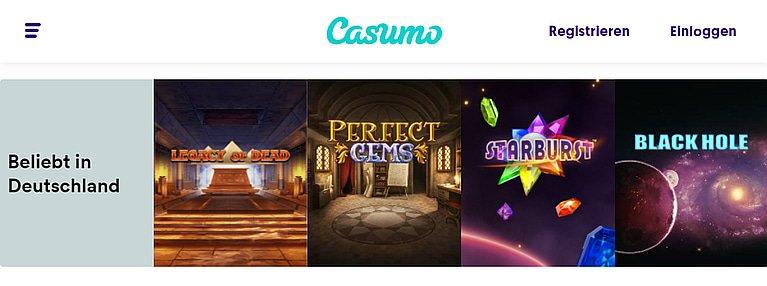 Casumo Slot Spiele