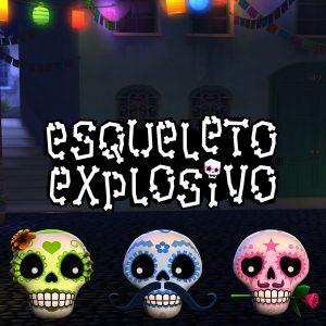 Esqueleto Explosivo Slot Thumbnail Logo
