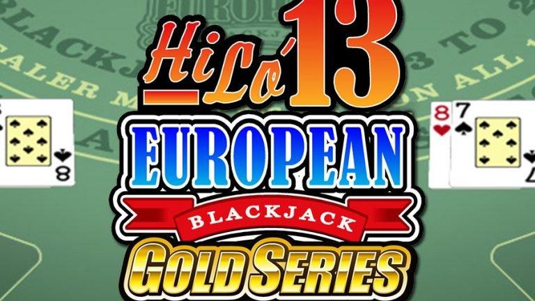 Hilo13 European Blackjack Gold
