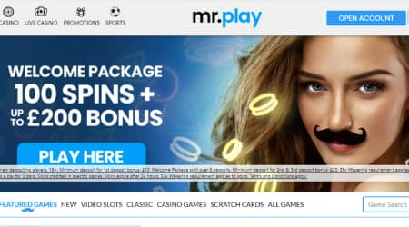 Mr. play online casino