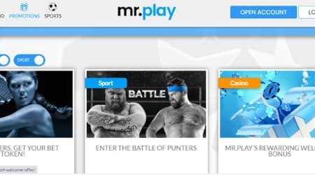 Mr Play online casino promotions