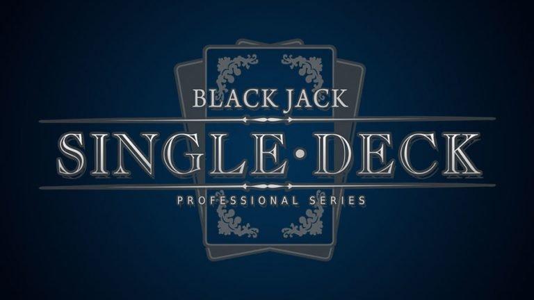 €1-€40 Single Deck Blackjack