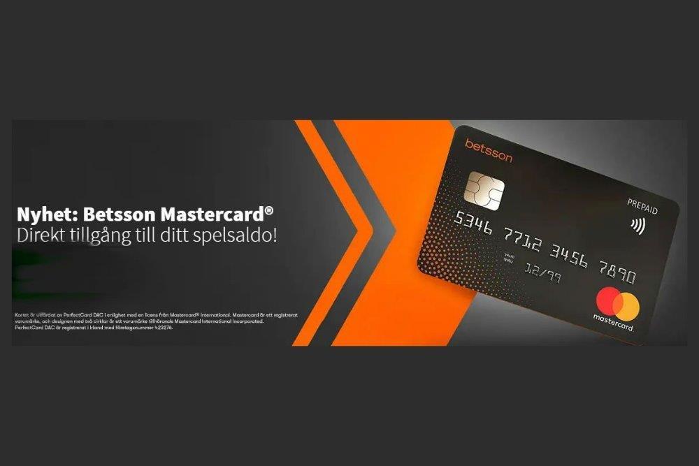 Nu kommer Betsson Mastercard till casinot – 2019