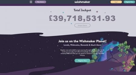 Jackpots at Wishmaker Casino