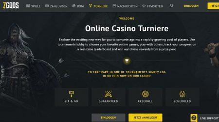 7Gods Casino Turniere