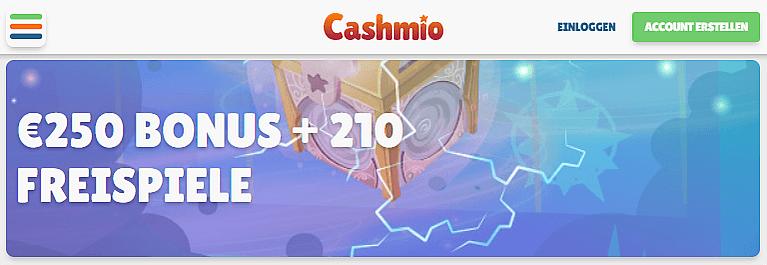 Cashmio Casino Willkommensbonus