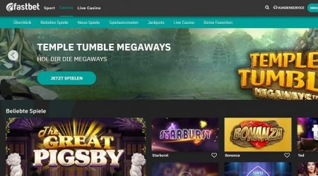 Fastbet homepage
