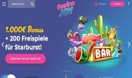 CasinoJoy willkommensbonus