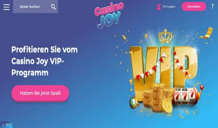 VIP program casinojoy