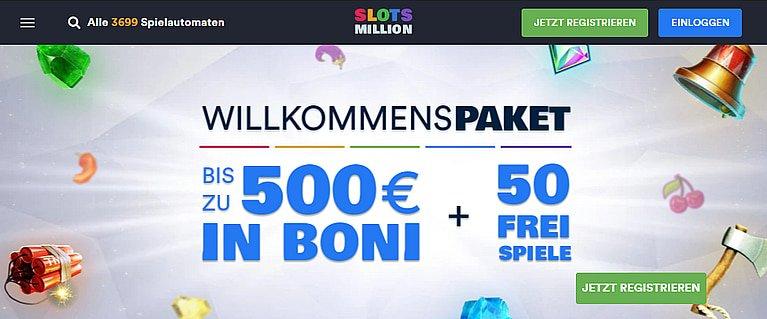 SlotsMillion Bonus Code