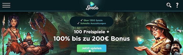 Spela Casino Bonus für Neukunden