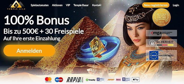 Temple Nile Bonus