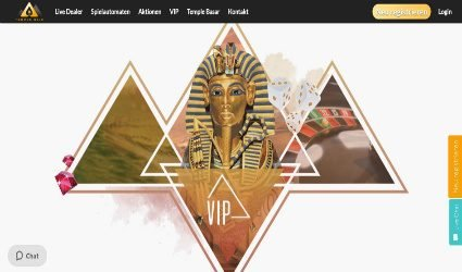 Vip programme Temple Nile Casino