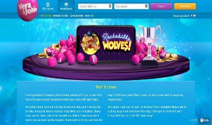 Vera & John mobile casino
