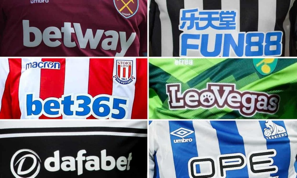 Calls for football teams to reconsider gambling sponsorships
