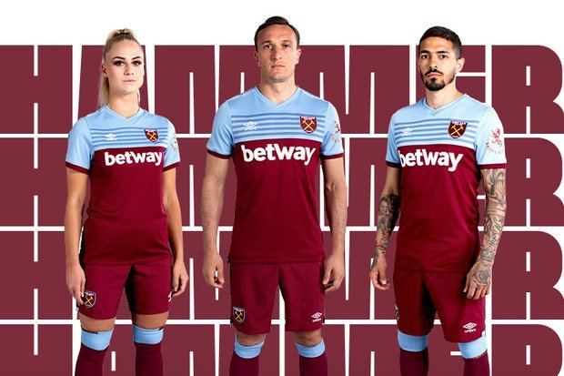 West Ham United Team Kit