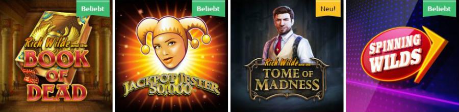 drückglück games overview