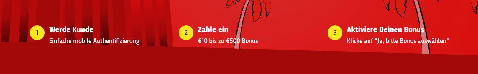 blitzino claim bonus