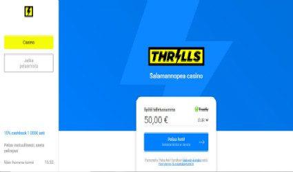 Thrills online-kasino