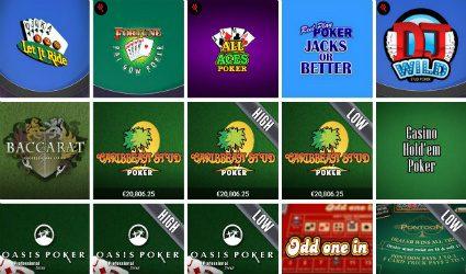 666 Casino slider games