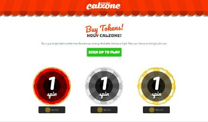 Big Tokens at Casino Calzone