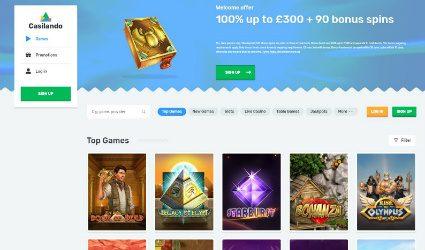 jackpot slots at the casilando online casino