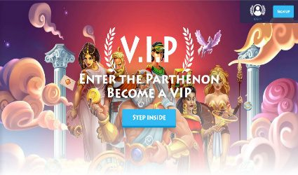 VIP program at Casino Gods