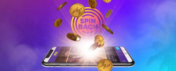 Auf der Gewinnerseite mit Wildz Spinback Bonus!