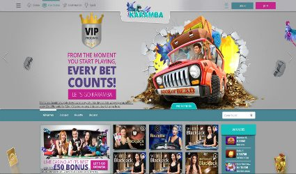 Karamba Live Casino games