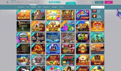 Karamba online slots