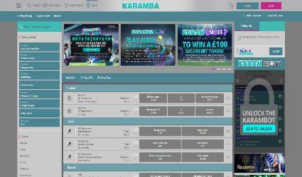 Karamba sportsbook