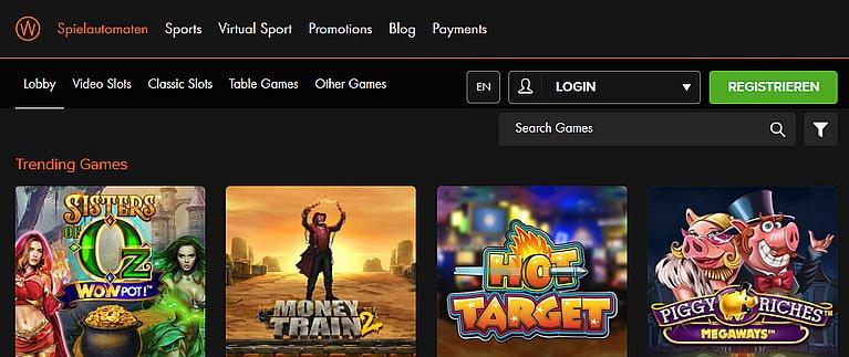 Winner Spiele Slots