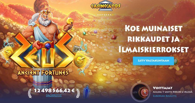 Casino Gods Zeus