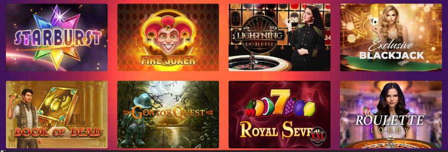 Casino Gods games most played