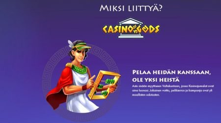 Casino Gods miksi liittyä