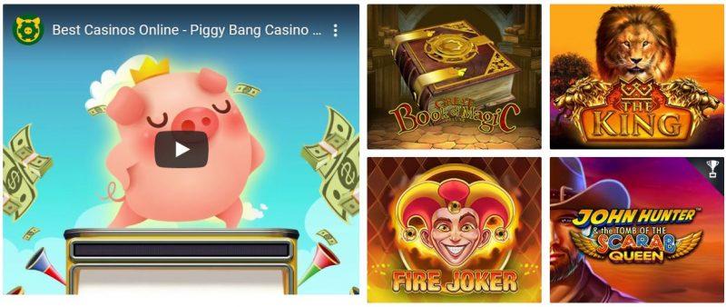 Piggy Bang casino pelit