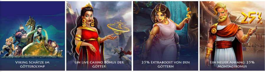 casino gods promotions 900