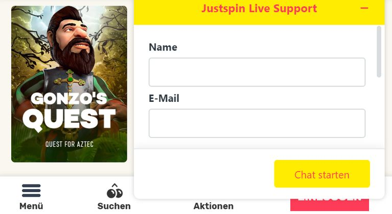 JustSpin Casino Support