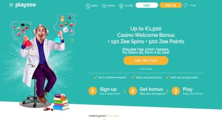 Playzee casion welcome bonus