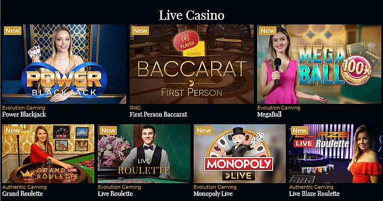 PremierLiveCasino Live Casino